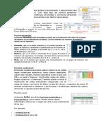 Control de Números y Funciones de Excel