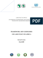 AU Land Policy in Africa- Full Doc