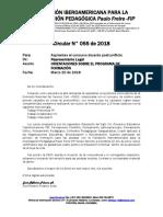 FIP CIRCULAR 055-2018-Orientaciones Programa Formacion Guapi 1