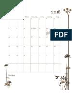 kalender 2018 nieuw