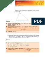 Geometria Angulos Internos de Un Triangulo