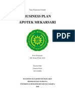 Business Plan Chamim Faizin 20171030008