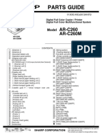 ar-c 260 parts