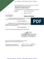 Luis Calderon Criminal Complaint