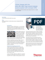 Analysis Clinker Phases ARL 9900