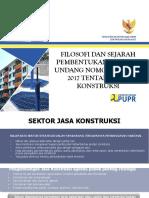 filosofi UU Jasa Konstruksi no.2 th 2017