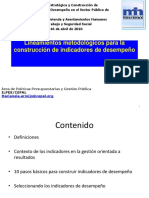 Indicadores Metodologia Mintrab y Viv