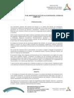 Proyecto de Código de Conducta Del Indajucam