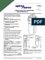 WEG Guia de Especificacion 50039910 Manual Espanol