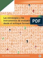 Estrategias e instrumentos de evaluación formativa