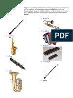 370265577 10 Instrumentos de Vientos 10 de Cuerda y 10 de Percusiones