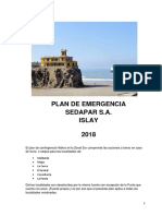 Plan Emergencia Zonal Sur Islay