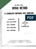 Timpani Method - FrieseLepak