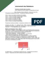 Calcul Et Dimensionnement Des Radiateurs Version Simple