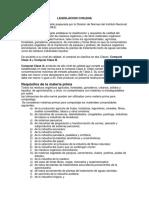 Legislacion Chilena y Peruana