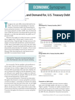 On the Supply of and Demand for u s Treasury Debt
