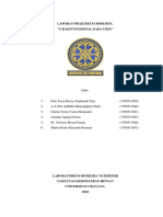 Laporan Praktikum Biokimia Urin