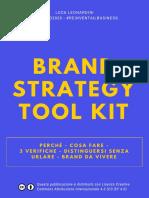 Brand Strategy Tool Kit Per Tutti
