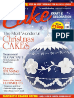 Cake Craft Decoration November 2015 UK
