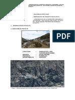 Construcción de Carretera Carhuapata - Jacas Grande