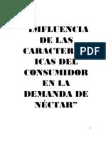 Nectar de Piña Inv . Mercados