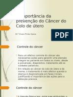 A Importância Da Prevenção Do Câncer Do Colo