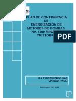 PLAN DE CONTINGENCIA  CAMARA DE BOMBEO NV. 1200 SC.docx