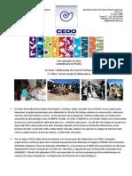CEDO 30 Aniversario Comunicado de Prensa (9 Sept 2010)