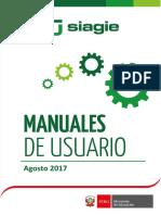 Manual de Usuario SIAGIE 2017