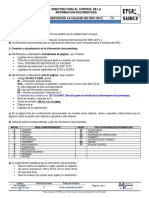 ID-7.5-D-DI01 Directriz Para El Control de La Informacion Documentada