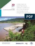 Capacidad de Adaptacion Al Cambio Climatico en Comunidades Indigenas de La Amazonia Peruana (1)