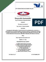 INVESTIGACIÓN BIBLIOGRÁFICA.- Características de La Globalización Económica.