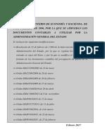 Om 1-2-96 Aprueban Documentos Contables Actualizada Febrero 2017