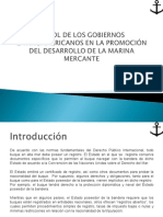 1.2 Rol de Los Gobiernos Latinoamericanos en Promocionar El Desarrollo de La Marina Mercante