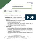 Modulo Listo Normas Generales y Concurrencia Vocali CA Primeros Medios