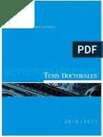 tesis doctorales