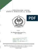 Bachrum Bunyamin - Analisis Strukturalisme
