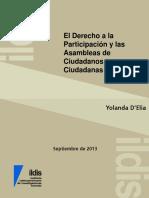 201309, ILDIS - El Derecho a La Participación y Las ACC