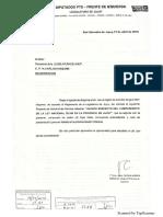 Pedido de Informe Avances Ley 26.160 PTS FIT