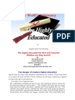 The World's Aristocracy - The Highly Educated