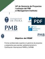 0 Temario Piura Xx Peap Udep - Pmb PDF