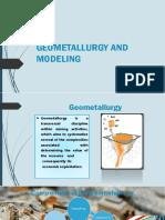 Geometallurgy and Modeling