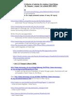 Useful Biology Websites for 6th Form GF