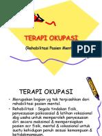 TERAPI OKUPASI