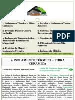 Thermo Brasil - Catálogo de Produtos