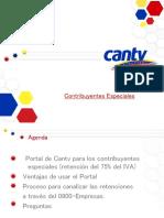 Presentación Portal Contribuyentes Especiales