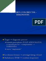 CANCERUL COLORECTAL - DIAGNOSTIC.ppt