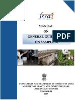 General Guidelines on Sampling