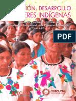 Población, desarrollo y mujeres indígenas