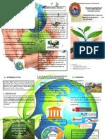 Trifoliado de Medio Ambiente